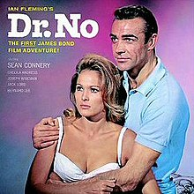 Monty Norman John Barry - Dr. No OST album cover.jpg