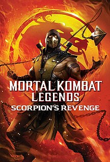 <i>Mortal Kombat Legends: Scorpions Revenge</i> non-canon video adaptation of the series story