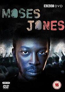 <i>Moses Jones</i> British television crime drama series