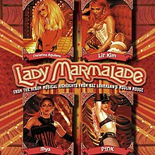 Christina Aguilera, Lil' Kim, Mýa and Pink — Lady Marmalade (studio acapella)