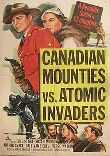 Canadian Mounties vs. Atomic Invaders movie