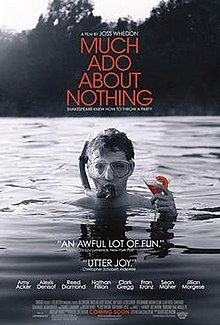 Image result for much ado about nothing 2012 poster