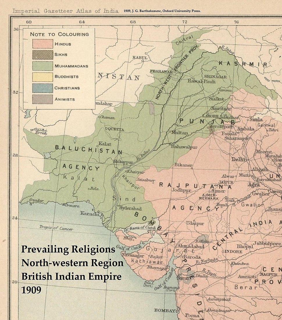 NWIndianEmpireReligions1909