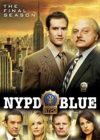 NYPD Blue (season 12) - Season 12 U.S. DVD Cover