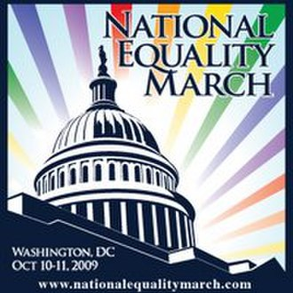 National Equality March - Logo for the March