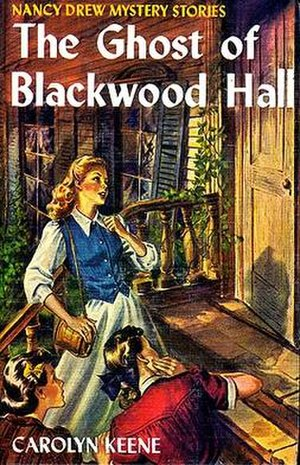 The Ghost of Blackwood Hall - Original edition cover