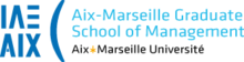 New Logo IAE Aix-Marseille Graduate School of Management, Sept 2014.png