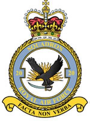 No. 20 Squadron RAF - Image: No. 20 Squadron RAF