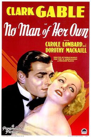 No Man of Her Own (1932 film) - theatrical poster