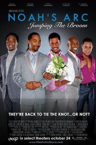 Noah's Arc: Jumping the Broom - Theatrical release poster