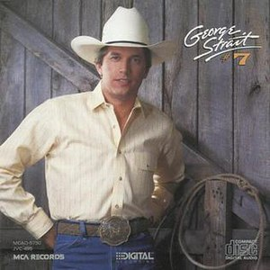 7 (George Strait album) - Image: Number 7strait