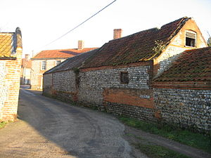 Southrepps - Image: Old abbatoir and butchery, Southrepps