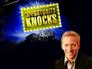 Opportunity Knocks (game show) - Opportunity Knocks logo and J.D. Roth