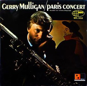Paris Concert (Gerry Mulligan album) - Image: Paris Concert (1966 Gerry Mulligan album)