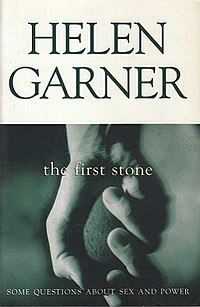 Picador HelenGarner TheFirstStone Cover 1995.jpg