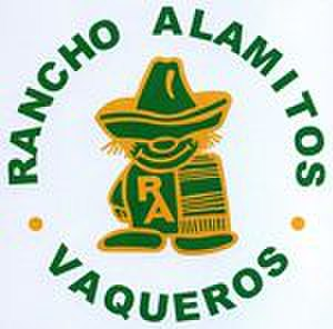 Rancho Alamitos High School - one of several renditions of the historical Poco image