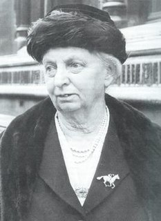 Florence Nagle Breeder and trainer of race horses