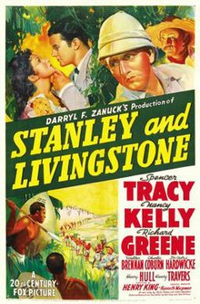 Great Poster Of The Movie Stanley And Livingstone Idea Dr Livingstone I Presume Movie