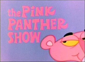 The Pink Panther Show - Title card from the 1980 syndicated version of The Pink Panther Show