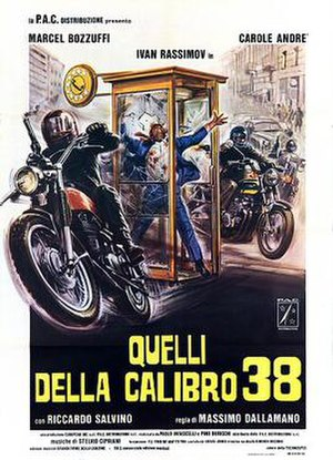 Colt 38 Special Squad - Italian theatrical release poster