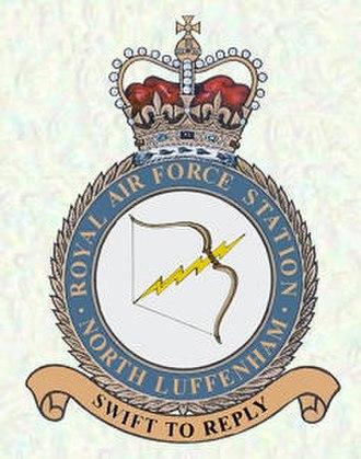 RAF North Luffenham - Image: RAF North Luffenham station crest