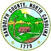 Official seal of Randolph County