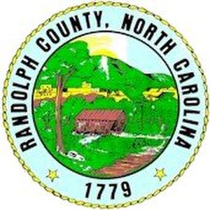 Randolph County, North Carolina - Image: Randolph County nc seal
