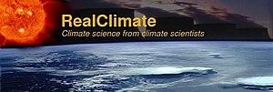 RealClimate - Image: Real Climate logo