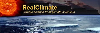 RealClimate - Image: Real Climate logo