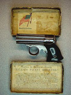 Remington Zig-Zag Derringer Derringer pistol