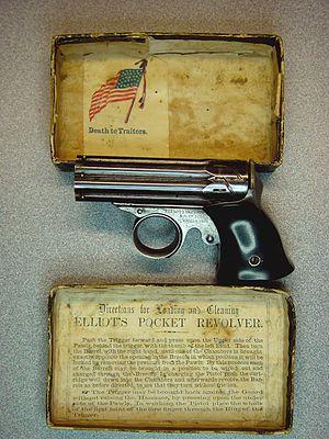 Remington Zig-Zag Derringer - Remington ZigZag in original box
