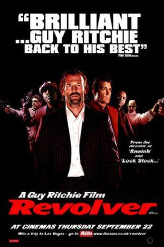 Revolver (2005 film) - Theatrical release poster