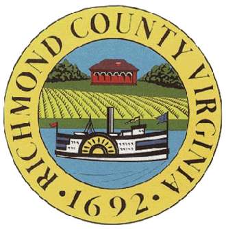 Richmond County, Virginia - Image: Richmond County va seal
