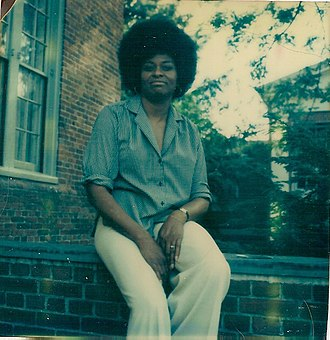 Ruby G. Woodson - Image: Ruby At Brown U1975
