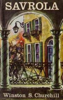 <i>Savrola</i> book by Winston Churchill