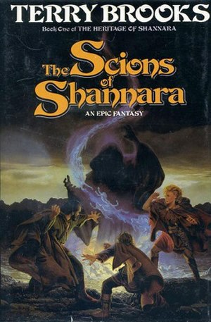 The Scions of Shannara - Cover art of The Scions of Shannara