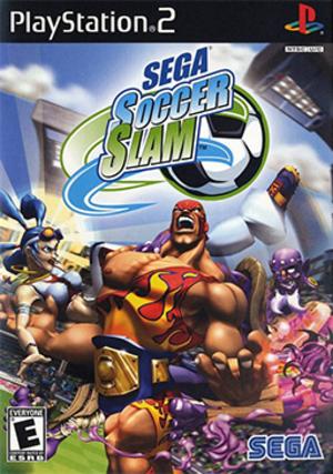 Sega Soccer Slam - North American PS2 cover art