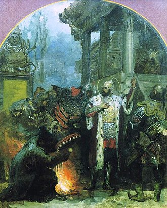 History of Russia - Alexander Nevsky in the Golden Horde.