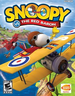 snoopy vs the red baron game wiki