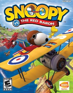 <i>Snoopy vs. the Red Baron</i> (video game) 2006 video game