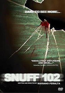<i>Snuff 102</i> 2007 horror-snuff film by Mariano Peralta