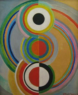 Sonia Delaunay - Sonia Delaunay, Rythme, 1938, oil on canvas, 182 x 149 cm, Musée National d'Art Moderne, Paris