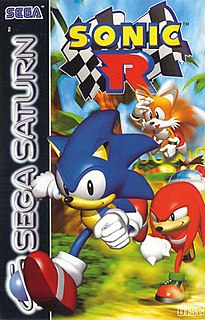 <i>Sonic R</i> racing video game