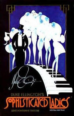 Sophisticated Ladies - Original Poster