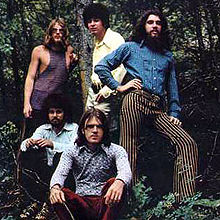 (clockwise from top left): Bob Yeazel, Jerry Corbetta, Bob MacVittie, Bob Webber and Bob Raymond in 1971.
