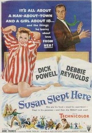 Susan Slept Here - original film poster