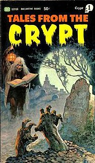 <i>Tales from the Crypt</i> (book) collection of eight horror comic stories