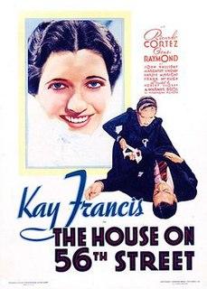 <i>The House on 56th Street</i> 1933 film