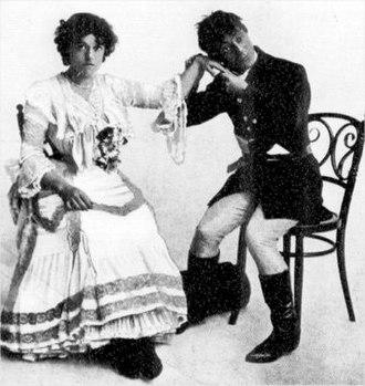 The Toreador - Violet Lloyd and Edmund Payne