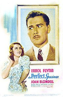 <i>The Perfect Specimen</i> 1937 film by Michael Curtiz